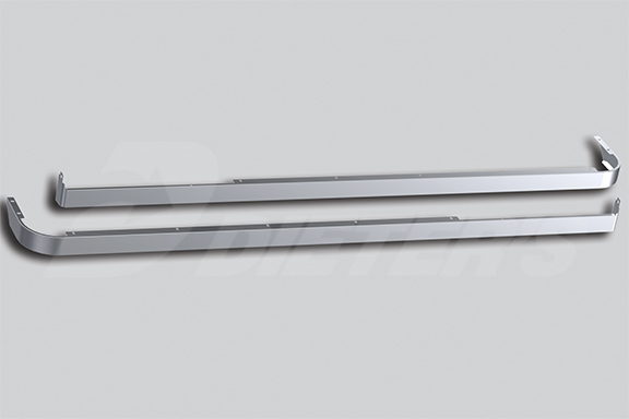 72″ Sleeper Skirts with Extenders – Dual Cab Exhaust image