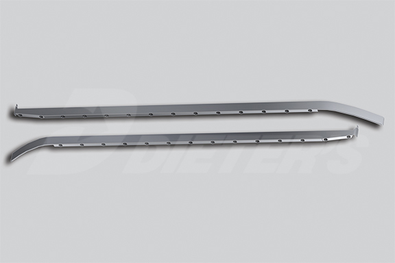 80″ Sleeper Skirts with Extenders – Underbody Exhaust image