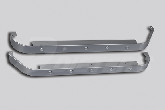 52″ Sleeper Skirts for Dual Cab Exhaust image