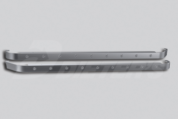 76″ Sleeper Skirts for Dual Cab Exhaust image