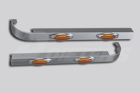 52″ Sleeper Skirts Without Extenders – Underbody Exhaust image