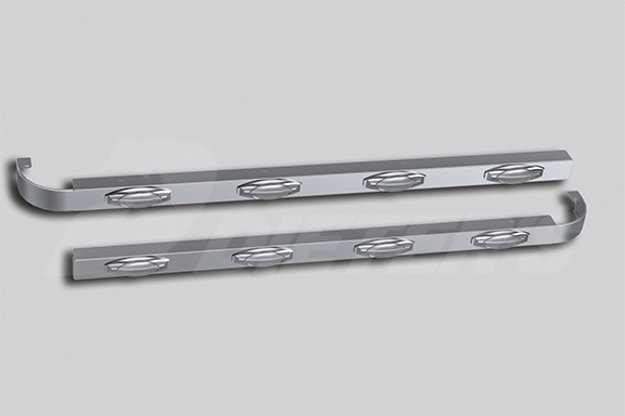 76″ Sleeper Skirts for Underbody Exhaust image