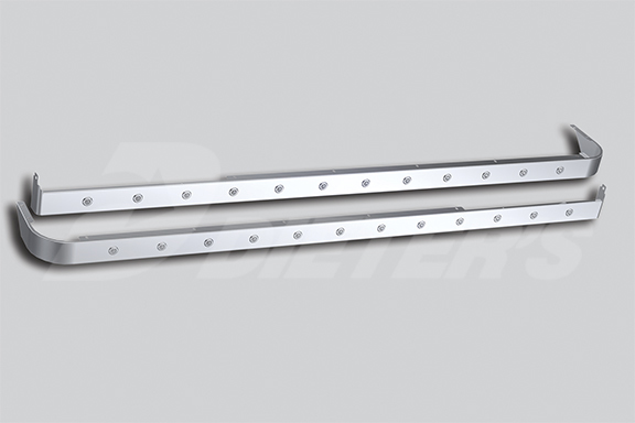 72″ Sleeper Skirts With Extenders For Cab Mount Exhaust image