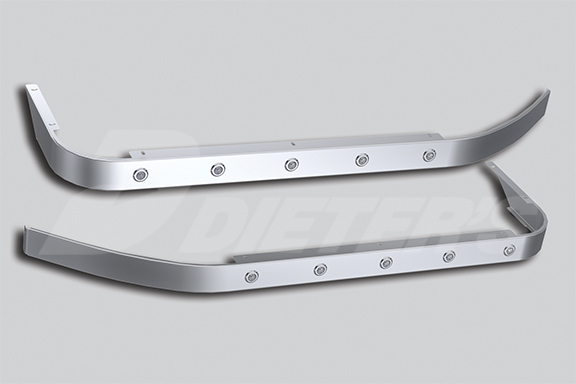 44″ Sleeper Skirts for Underbody Exhaust image