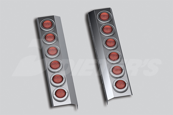 Rear Air Cleaner Light Bar With Starburst LED – Premium Can image