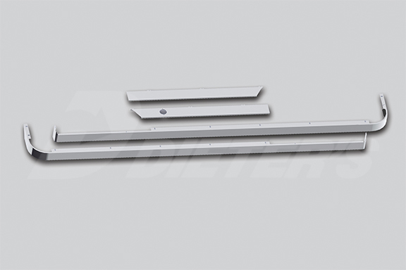 Cab/72″ Sleeper/Extender Kit – 579 117″ BBC with Cab Exhaust image