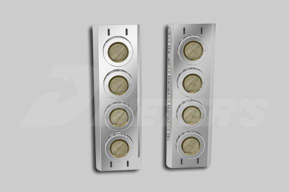 Front Air Cleaner Light Bars – Incandescent Lights image