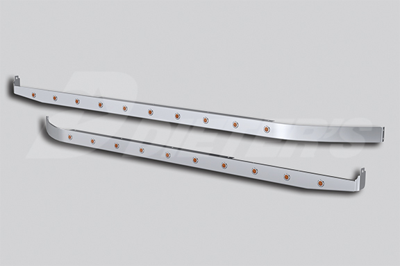 58″ Sleeper Panels with Extenders for Underbody Exhaust image