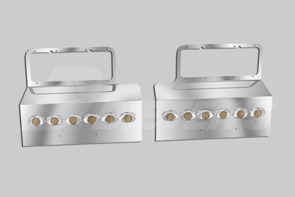 Headlight Mount Fender Guards image