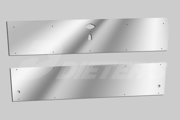 Stainless Steel Battery/Toolbox Panels image