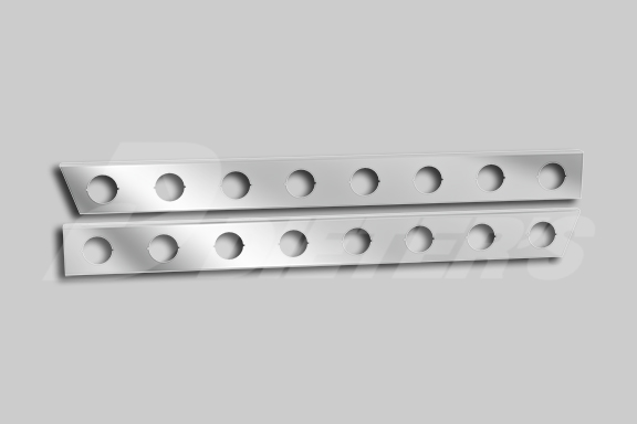 Cab Skirts With Light Holes – To Be Used With OEM Cowl Panels image