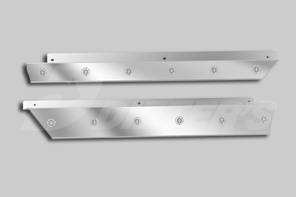 Cab Skirts – For Dual Exhaust image