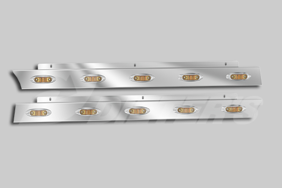 Cab Skirts with P168 Lights for SFA Models image