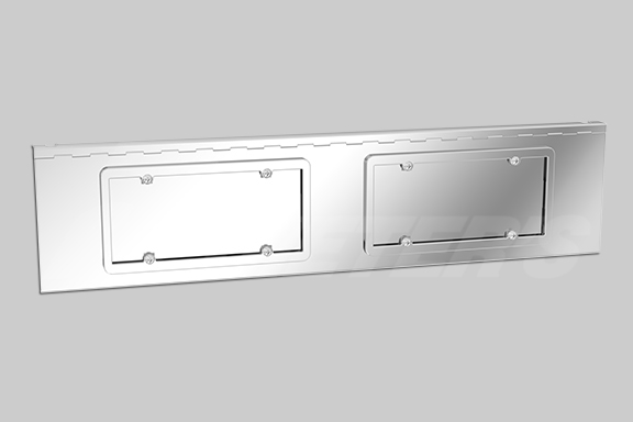 Bumper Face License Plate/Swing Plate image
